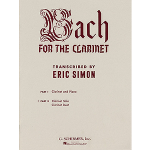 Bach for the Clarinet - Part 2