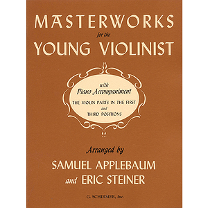 Masterworks for Young Violinists
