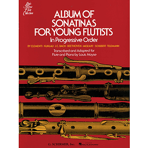 Album of Sonatinas for Young Flutists