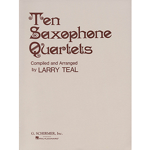 Ten Saxophone Quartets