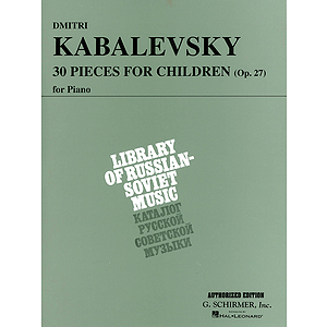 30 Pieces for Children, Op. 27