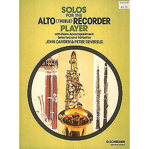 Solos for the Alto Recorder Player