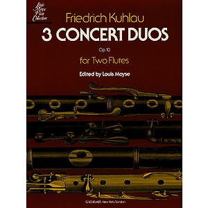 3 Concert Duos, Op. 10b