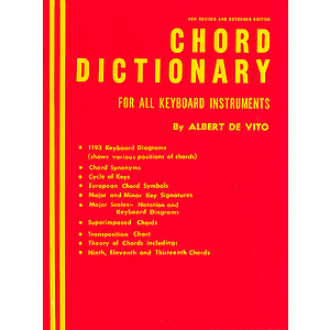 Chord Dictionary for Keyboard Instruments