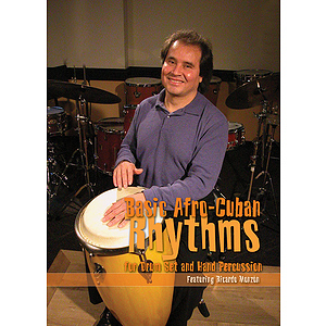 Basic Afro-Cuban Rhythms for Drum Set and Hand Percussion (DVD)