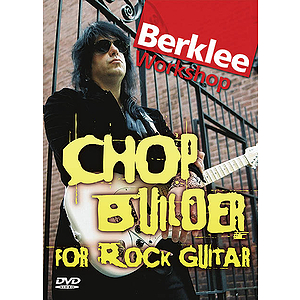 Chop Builder for Rock Guitar (DVD)