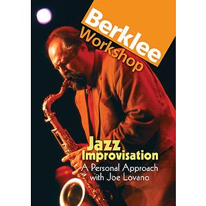 Jazz Improvisation: A Personal Approach with Joe Lovano (DVD)