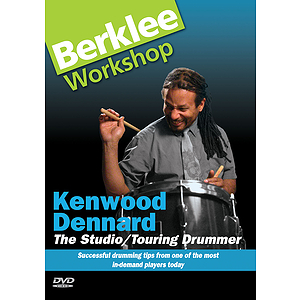 Kenwood Dennard - The Studio/Touring Drummer (DVD)