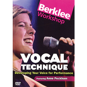 Vocal Technique - Developing Your Voice for Performance (DVD)