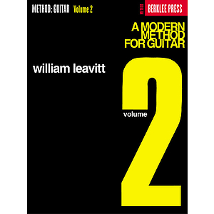 A Modern Method for Guitar - Volume 2