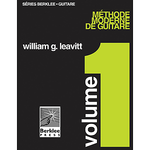 Modern Method for Guitar, Vol 1. - French Edition, Book Only