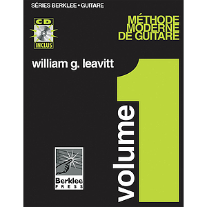 Modern Method for Guitar, Vol 1. - French Edition, Book/CD Pack