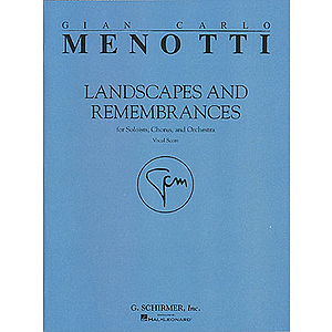 Landscapes &amp; Remembrances