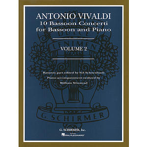 10 Bassoon Concerti, Vol. 2