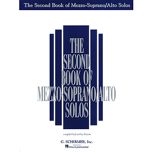 The Second Book of Mezzo-Soprano/Alto Solos