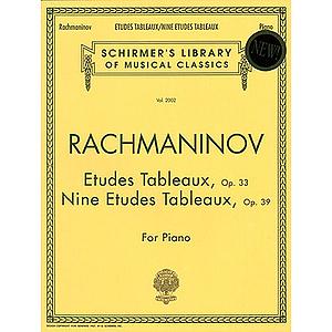 Etudes Tableaux, Op. 33 & 39