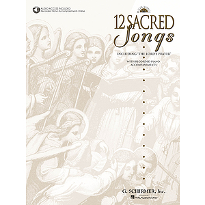 12 Sacred Songs - High Voice