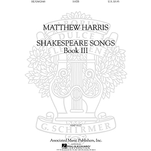 Shakespeare Songs, Book III