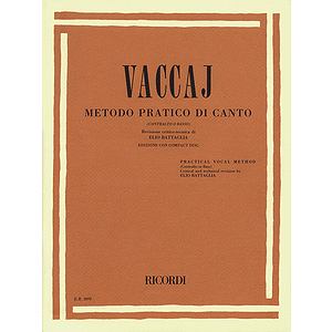 Practical Vocal Method (Vaccai) - Low Voice