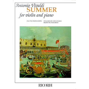 Concerto in G Minor L'estate (Summer) from The Four Seasons RV315, Op.8 No.2