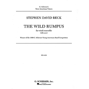 The Wild Rumpus Cb Score Concert Band