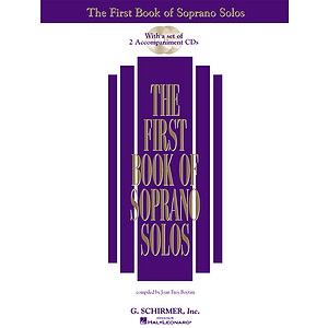 The First Book of Soprano Solos (Book/CD)