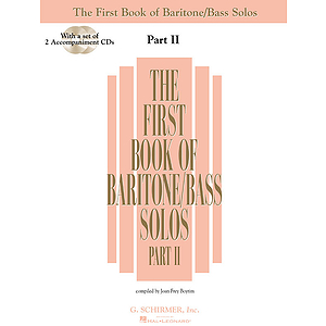 The First Book of Baritone/Bass Solos - Part II