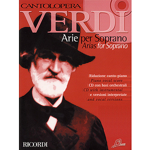 Cantolopera: Verdi Arias for Soprano Volume 1