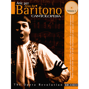 Cantolopera: Arias for Baritone - Volume 2