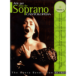 Cantolopera: Arias for Soprano - Volume 3