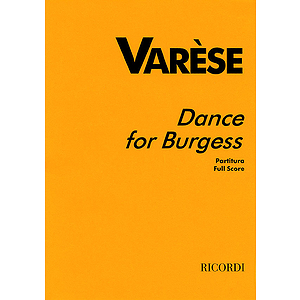 Varèse - Dance for Burgess