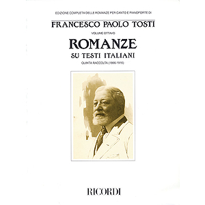 Francesco Paola Tosti - Romanze, Volume 8