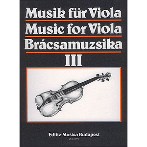 Music for Viola - Volume 3