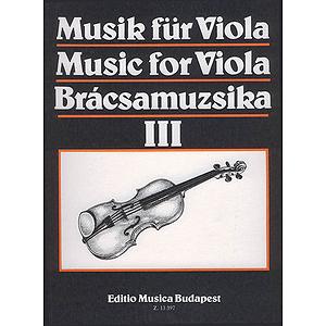 Music for Viola - Volume 3