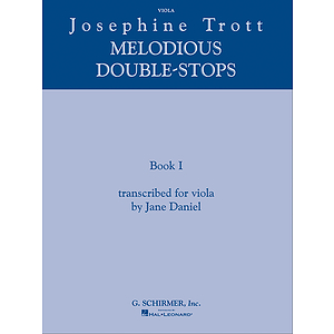 Josephine Trott - Melodious Double-Stops Book 1