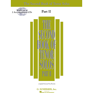 The Second Book of Tenor Solos Part II