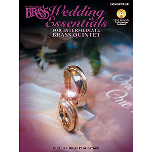 The Canadian Brass Wedding Essentials - Conductor (with CD of Performances by The Canadian Brass)