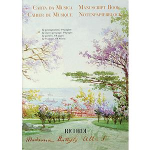 Madama Butterfly Manuscript Paper