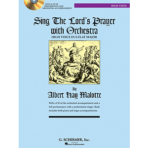 Sing The Lord's Prayer with Orchestra - High Voice