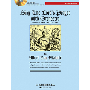 Sing The Lord&#039;s Prayer with Orchestra - Medium Voice