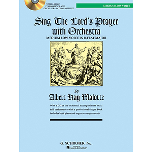 Sing The Lord's Prayer with Orchestra - Medium Low Voice