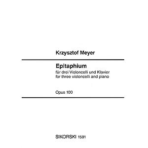 Epitaphium, Op. 100 (2004)