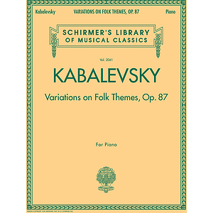 Variations on Folk Themes, Op. 87