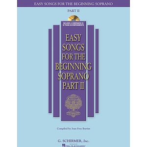 Easy Songs for the Beginning Soprano - Part II