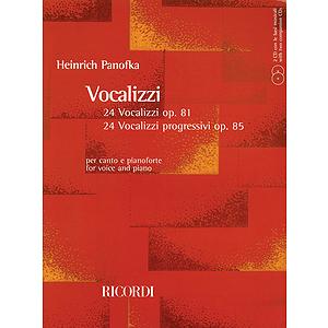 24 Vocalizzi, Op. 81 and 24 Vocalizzi Progressivi, Op. 85