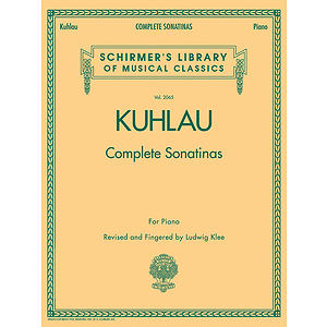 Kuhlau - Complete Sonatinas for Piano