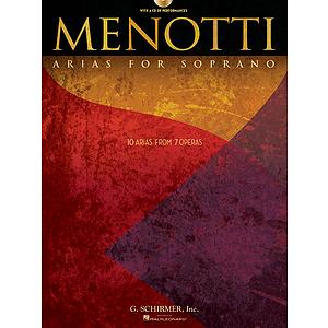 Menotti Arias for Soprano