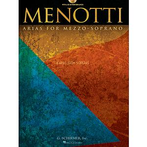 Menotti Arias for Mezzo-Soprano