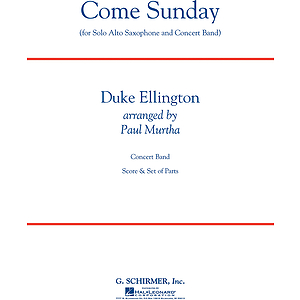 Come Sunday (Alto Sax feature)