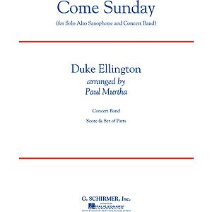 Come Sunday (Alto Sax feature)